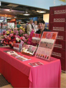 Derelie Cherry Borders Bookshop Book Signing